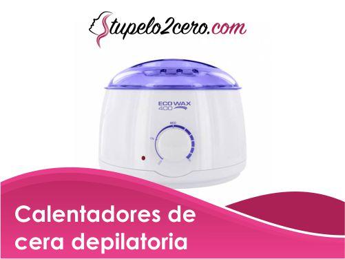 Calentadores de cera depilatoria